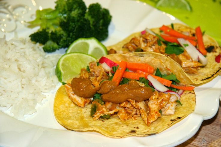 Look Who's Cookin' Now: Thai Chicken Tacos