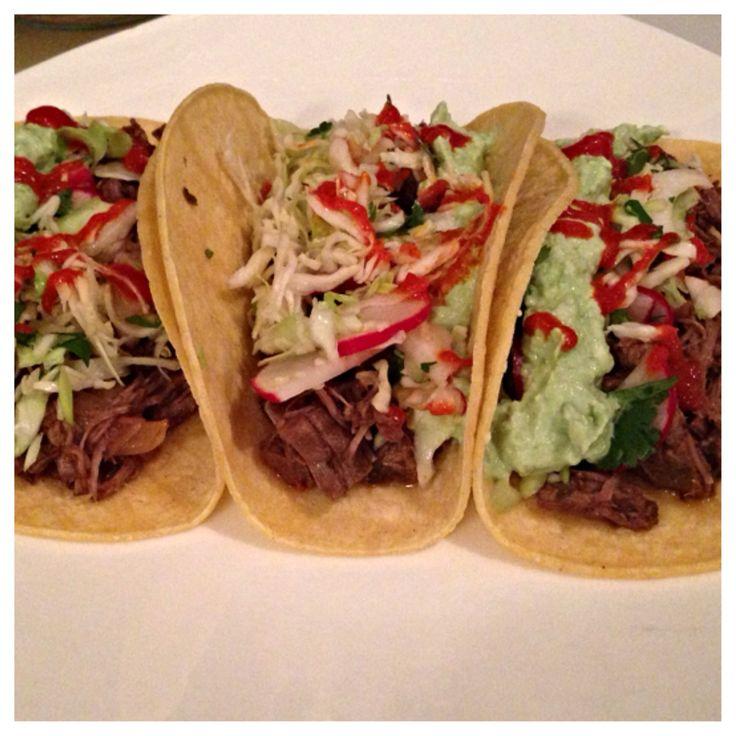 Shredded Beef Tacos | FOOOD! | Pinterest