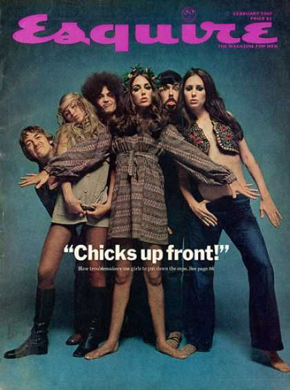 """Chicks up front"""