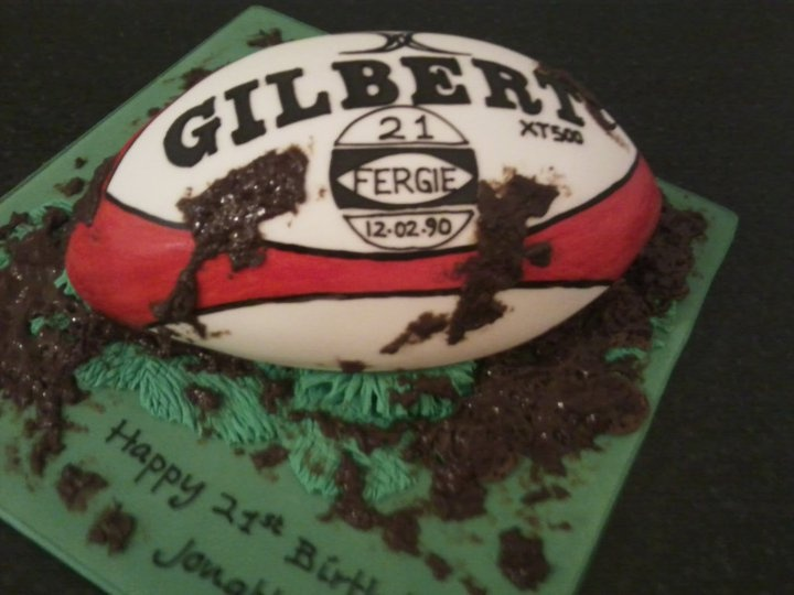 Rugby Ball Cake Ideas