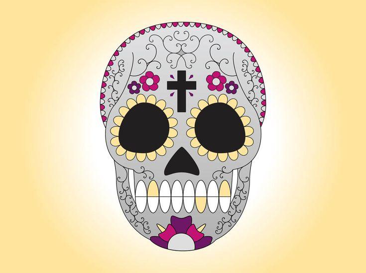 gallery for sugar skull wallpaper for home
