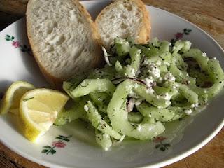 Potato Salad With Feta, Dill And Cucumber Recipe — Dishmaps