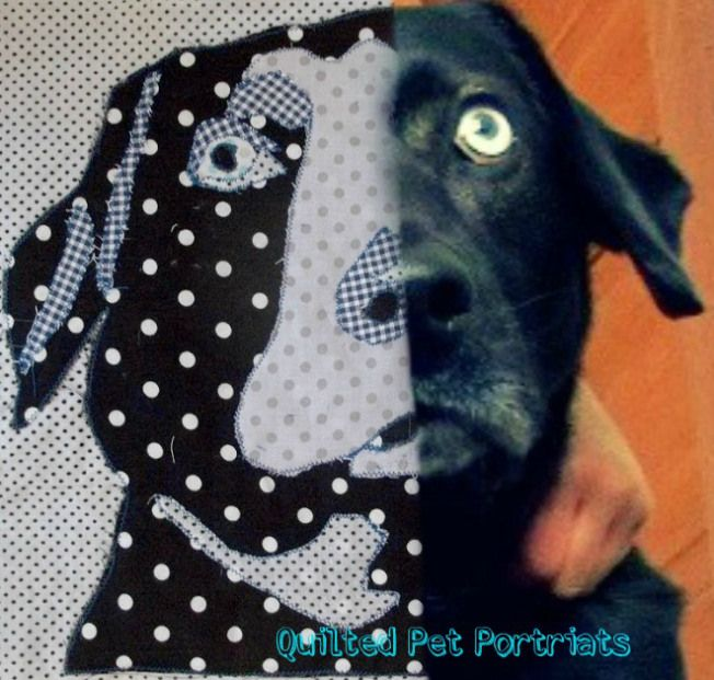 Make all things new: Tutorial for pet portrait quilt