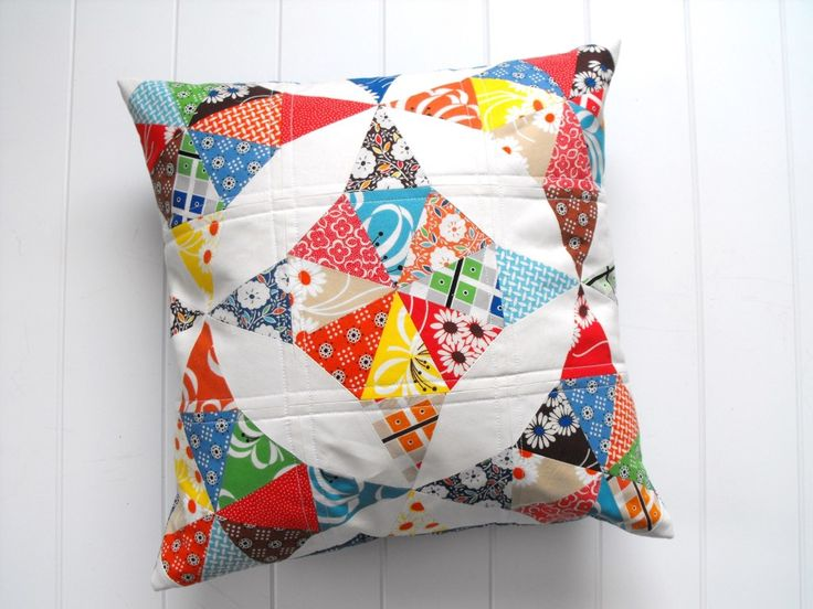 DIY Quilted Throw Pillow