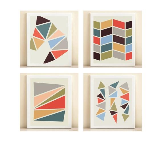 Geometric Print Collection by Amanda Catherine Designs