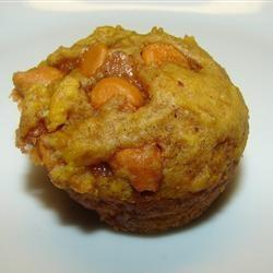 Mini Pumpkin Butterscotch Muffins - so so good!
