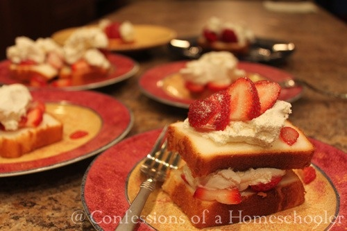 Easy Strawberry Shortcake | recipes | Pinterest