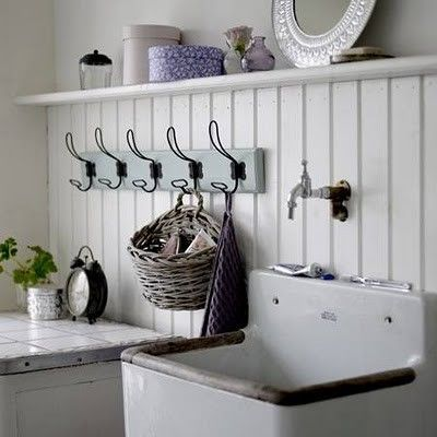 Vintage Laundry Room Sink : vintage laundry rooms on pinterest Vintage sink and hooks Laundry ...
