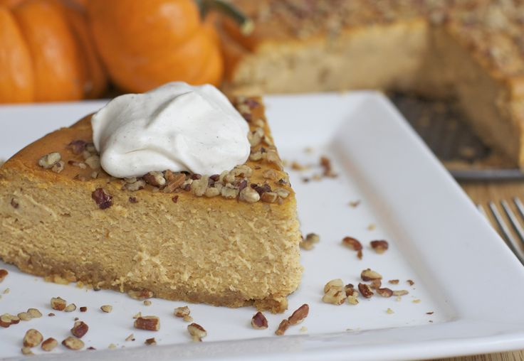 Easy Pumpkin Pie Cheesecake Recipe | food and recipes | Pinterest