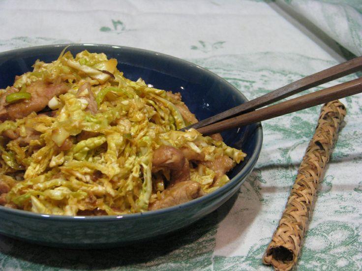 Mu shu chicken healthy | Chicken | Pinterest