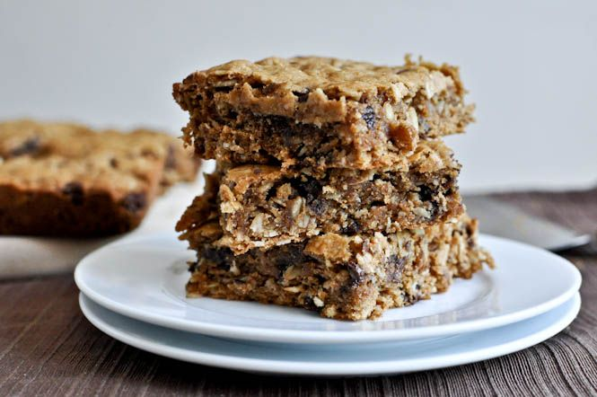 oatmeal peanut butter snack squares