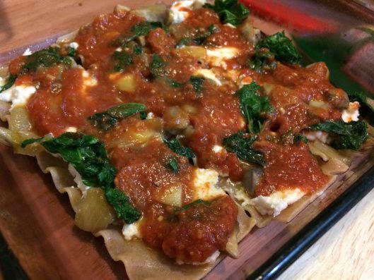 ... /2014/01/22/caramelized-onions-mushrooms-kale-ground-turkey-lasagna