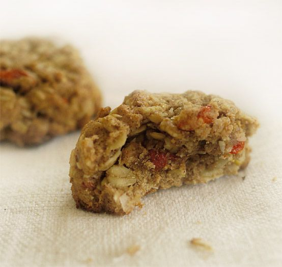 Oat cookies. Left out coconut products, used veg oil instead. Can use ...