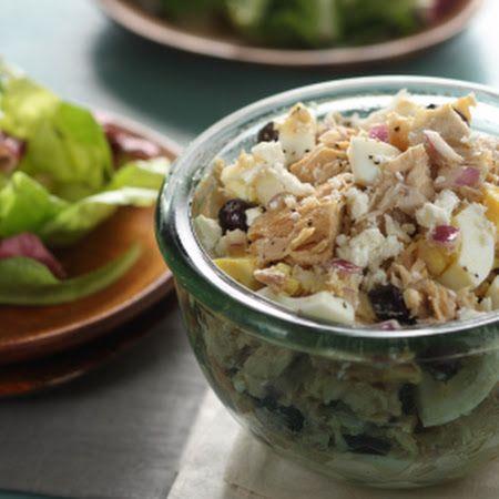 Mediterranean Tuna Salad | Recipes - Salads/Slaws | Pinterest