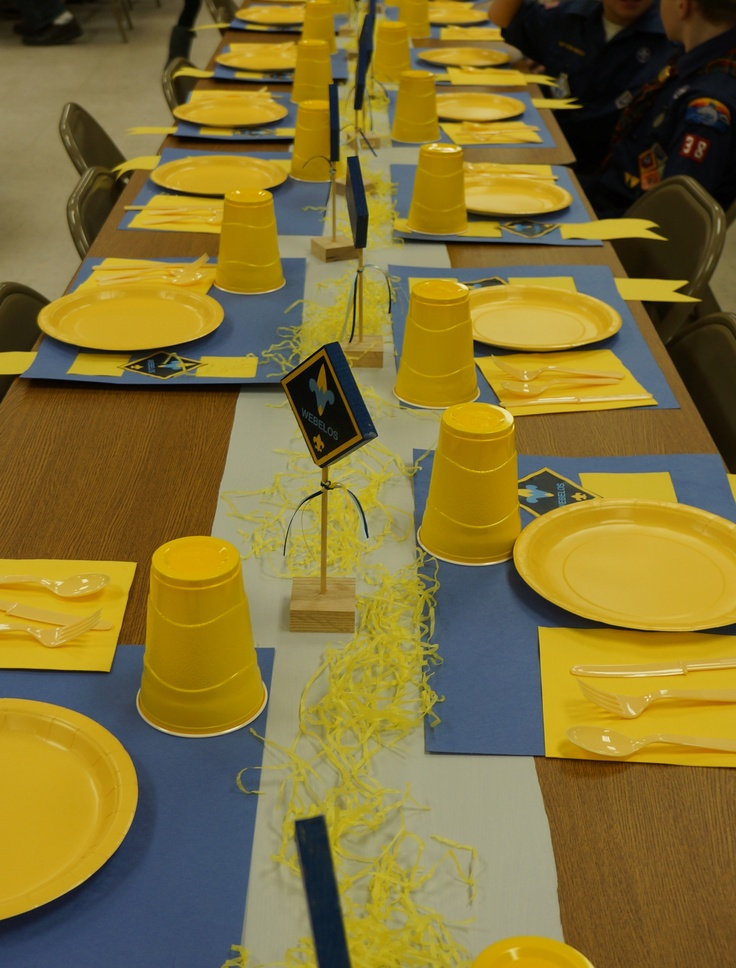 Blue and gold banquet cub scouts pinterest