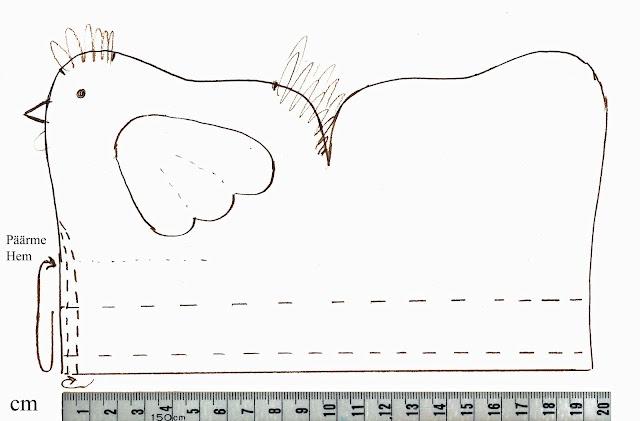 MARAVILHOSO ACESSO hen pattern