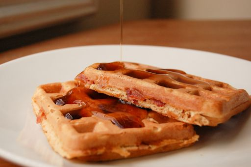 Brown Sugar Bacon Waffles - made this once, didn't care for the ...