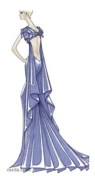 Versace design sketch   Versace's sketches   Pinterest