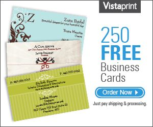 business card vistaprint template download