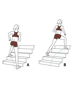 15 Minute Stairs Workout