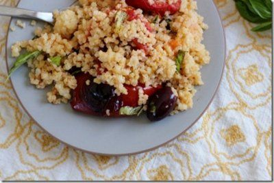 Roasted Tomato Millet Salad