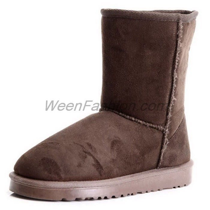 Boots Female Winter Warm Inexpensive Womens Shoes Fine Fleece Lining