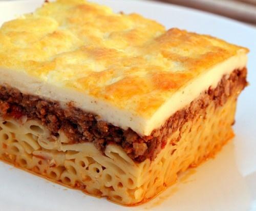 Greek Lasagne Recipe