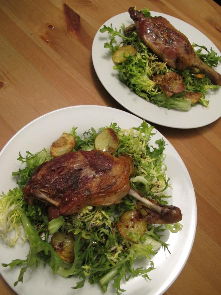 Easy Duck Confit Recipe — Dishmaps