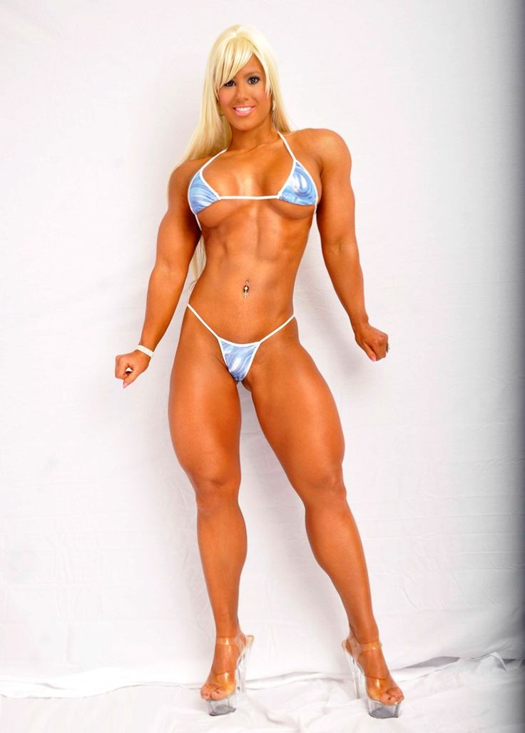 Nude avalon female megan bodybuilder