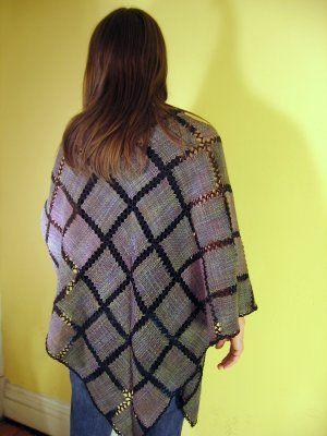Pretty Weave-It Shawl >> Malarky Crafts