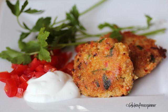 Quinoa Cakes recipe made with Boursin Garlic & Fine Herbs
