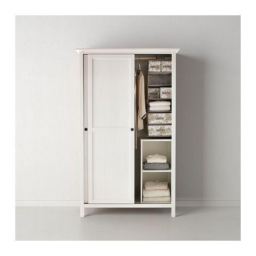 Ikea Wandregal Mit Schublade ~ HEMNES Wardrobe with 2 sliding doors, red