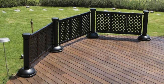 portable patio fence outdoor living pinterest