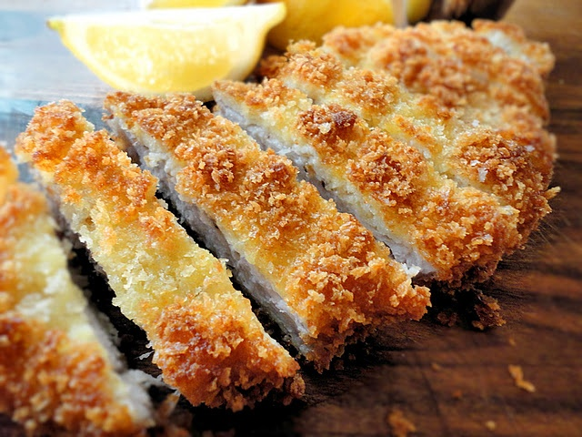 Tonkatsu Pork with sauce recipe | Around the World Recipes | Pinterest
