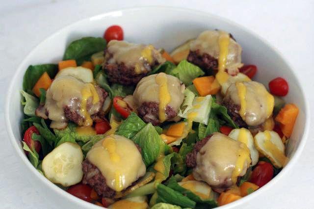 cheeseburger salad | COOKING LOVE | Pinterest