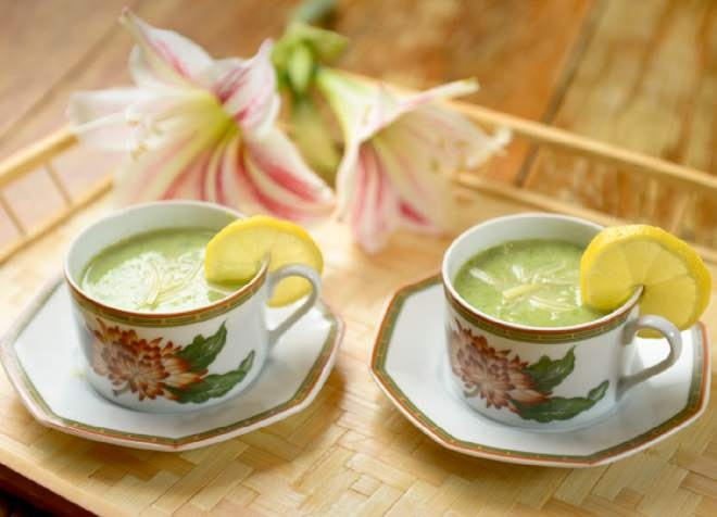 Fresh Asparagus Soup | Food | Pinterest