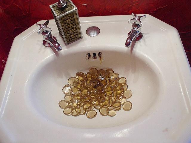 Stones In Sink : more sink stones In-Symmetry Aesthetic Pinterest