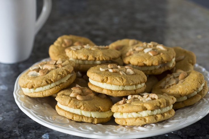 Orange & Manuka Honey Cream Cookies | Mind and Body | Pinterest