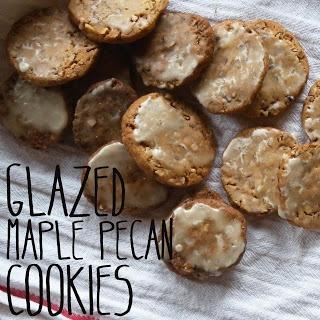 Glazed Maple Pecan Cookies | Tasty Desserts | Pinterest