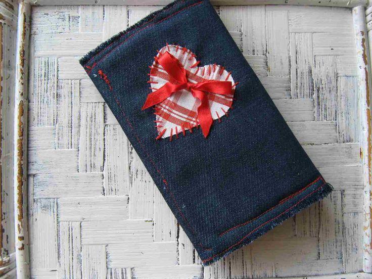 Portafoglio jeans fai da te myshabbycountrydreams for Porta cellulare fai da te jeans