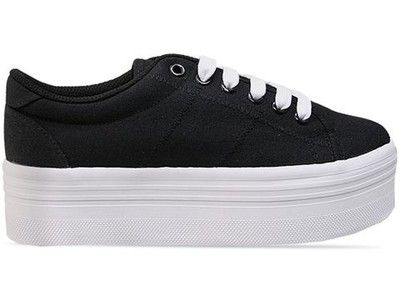jeffrey campbell black white platform sneaker