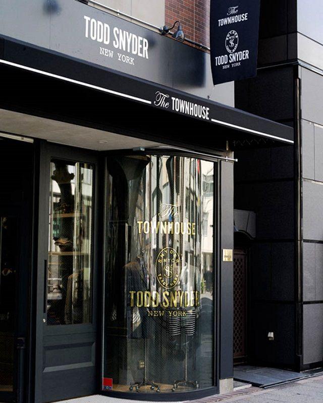 Todd Snyder Tokyo Store