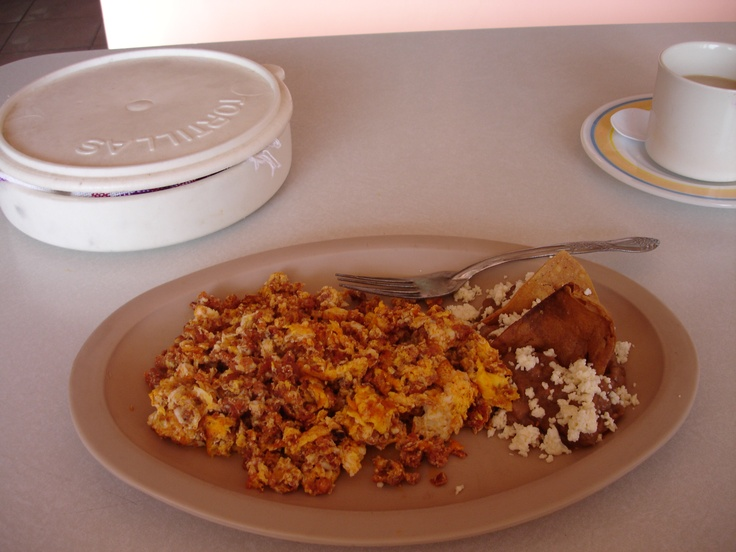 Chorizo and eggs | Mexico - Food | Pinterest