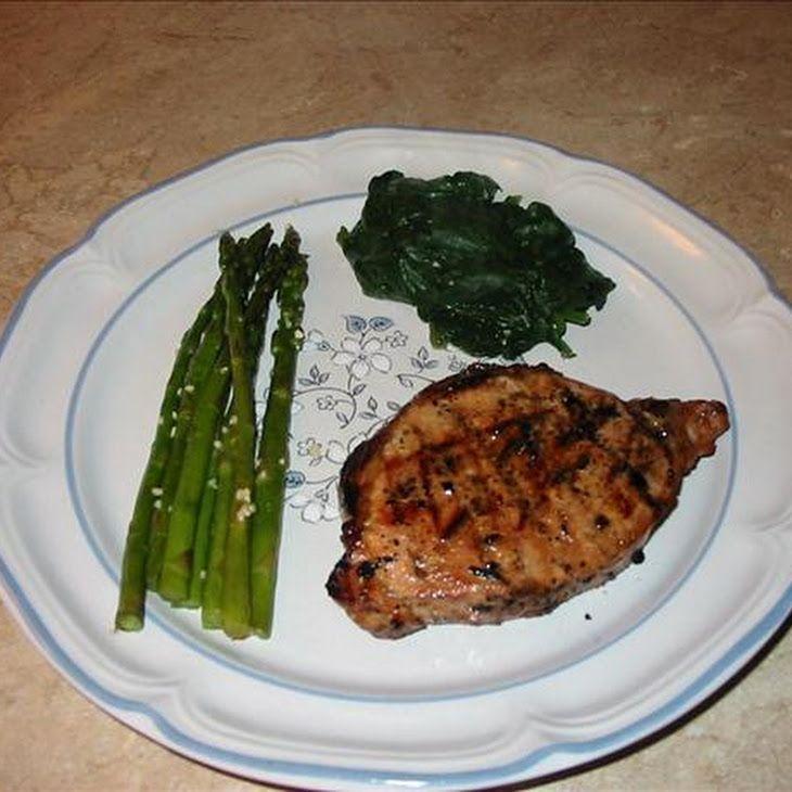 Grilled Pork Chops Marinade Recipe | Food | Pinterest