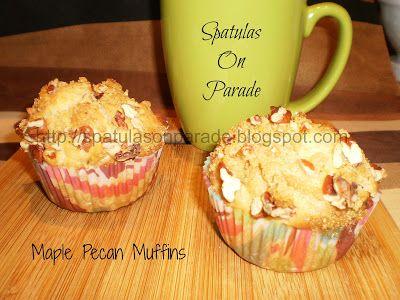 Maple Pecan Muffins