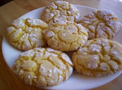 lemon sunshine cookies | Recipes I love... | Pinterest