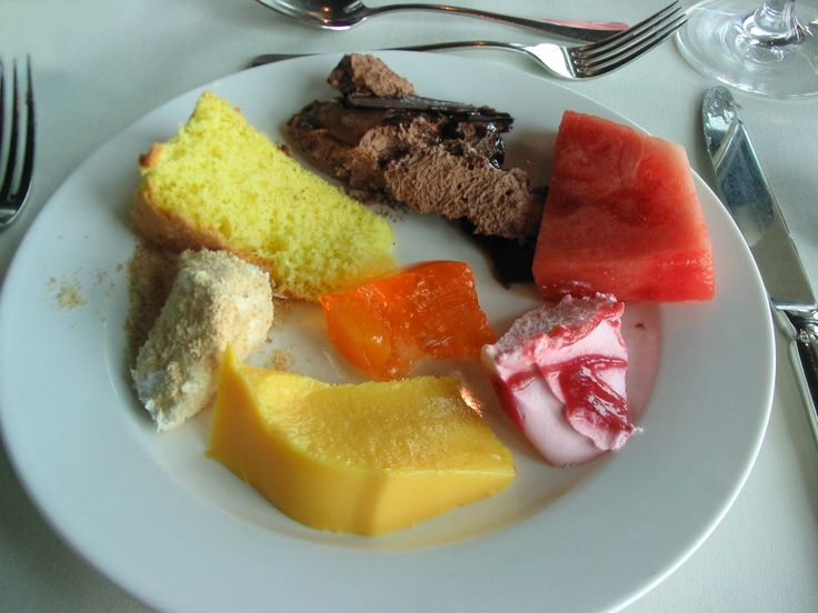 all kinds of desserts