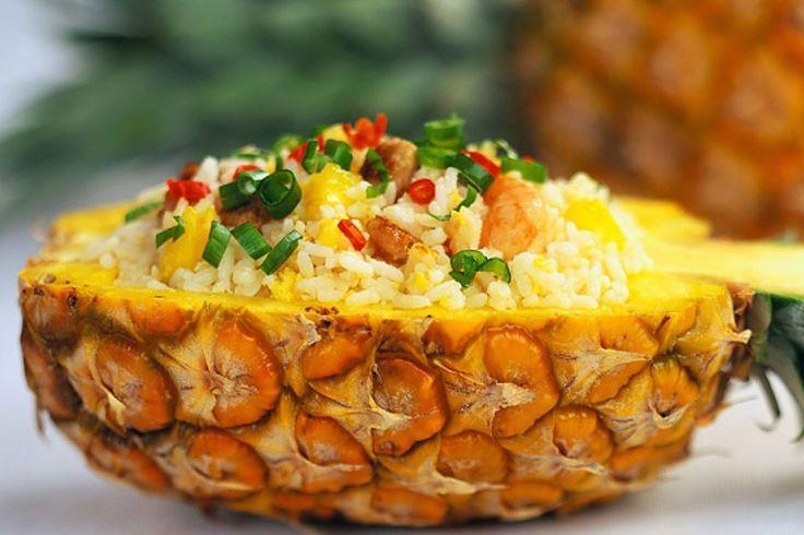 thai pineapple fried rice | Food memories | Pinterest