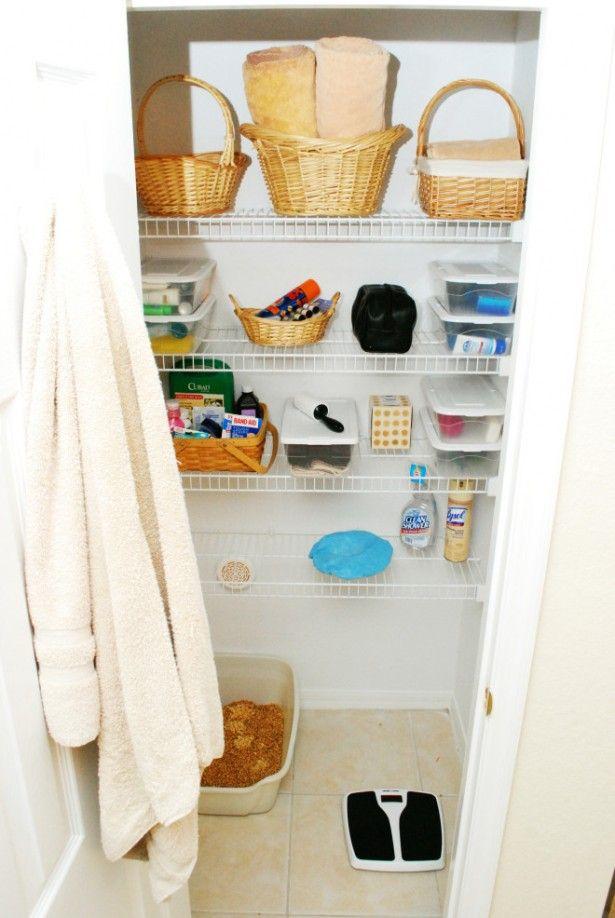 bathroom closet organization ideas home decor ideas pinterest