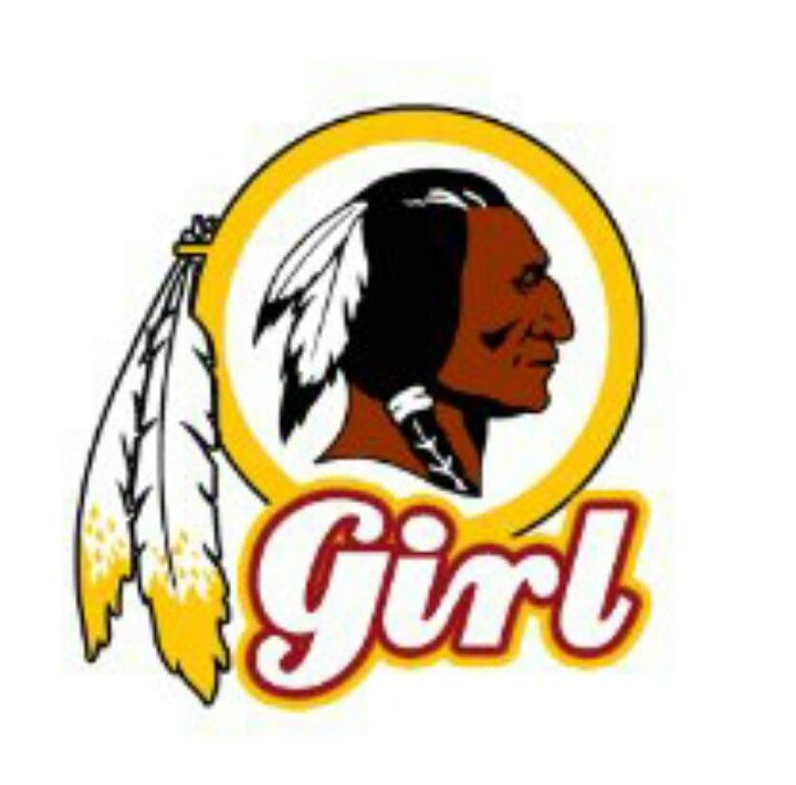 Girls will go see anything they 39 re open by lauren miller for Hail yeah redskins shirt